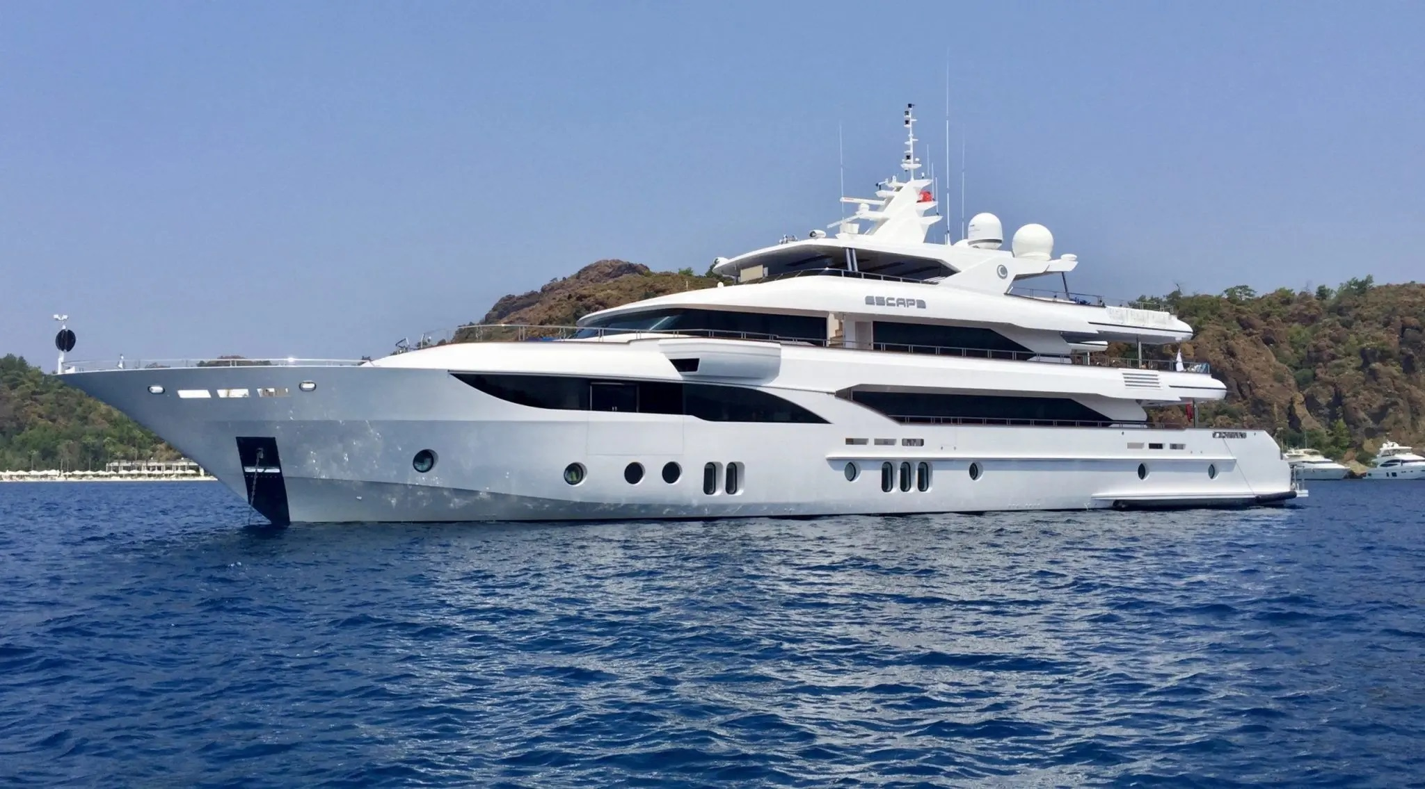 Motor yacht Escape