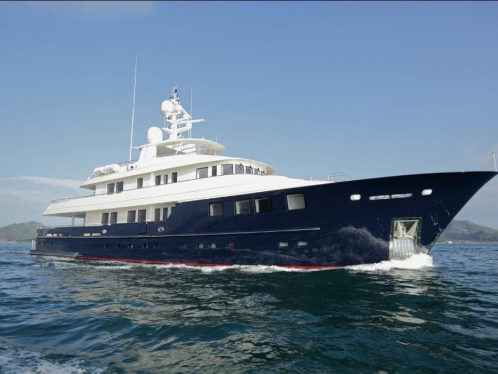 Motor yacht Oceans Seven