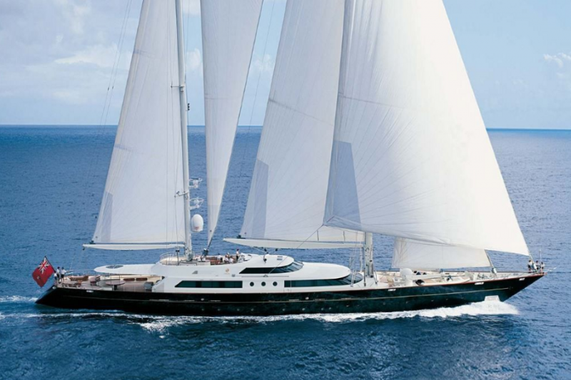 Sailing yacht Taouey