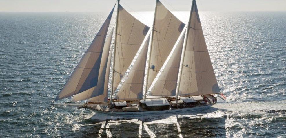 Sailing yacht VORONTSOV