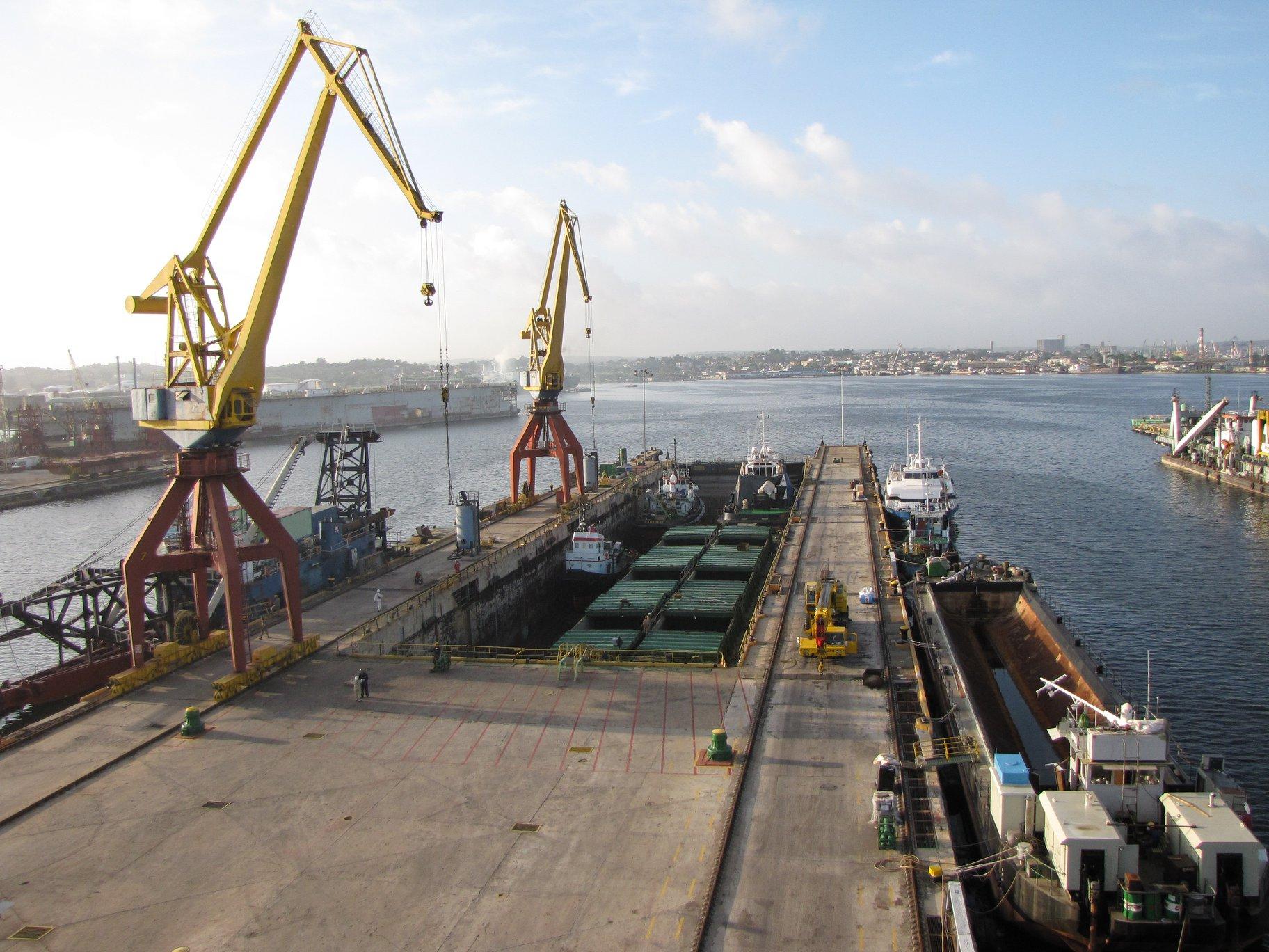 Cuba Shipyard