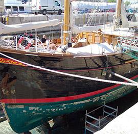 Sailing yacht Francescopetra