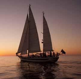 Sailing yacht Lady Eugenie
