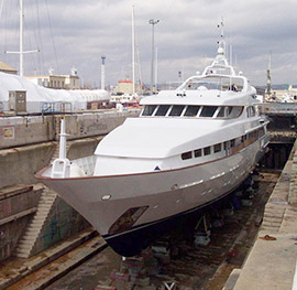 Motor yacht Lady Christina