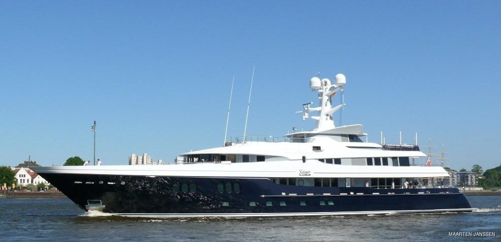 Motor yacht Kaiser
