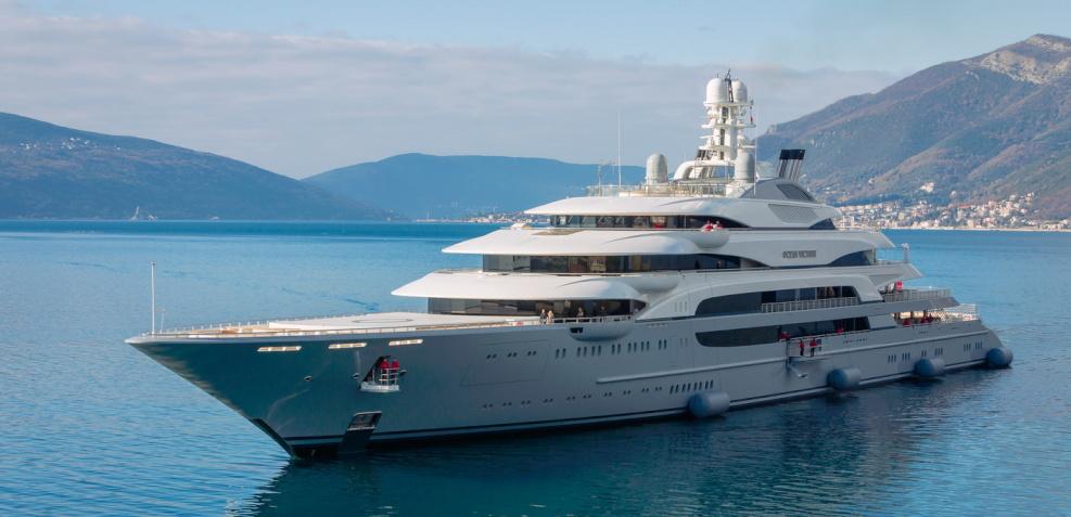 Motor yacht Ocean Victory