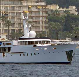 Motor yacht cardigrae