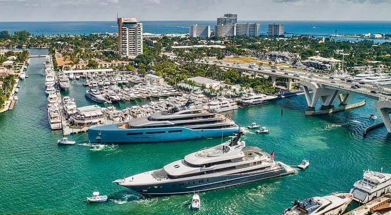 Ford Lauderdale Boat Show